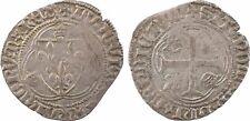 Louis XI, blanc à la couronne, Lyon - 11