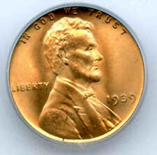 1939 Lincoln Cent ICG MS 67 Super Red Gem Plus+