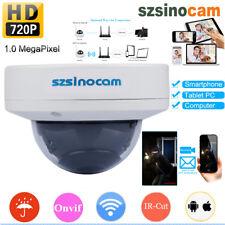 HD WLAN Wireleess ONVIF WiFi IP Überwachungskamera Webcam Nachtsicht Außen/720P