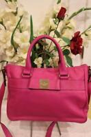 (z) 'Kate Spade FUSCHIA primrose hill - goldie' leather satchel bag purse (pu700