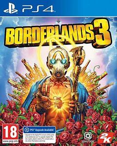 Borderlands 3 PS4 V.Good Fast Postage