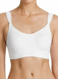 Berlei Ultimate Performance Y599W Underwired Crop Top Sports Bra White 32DD CS