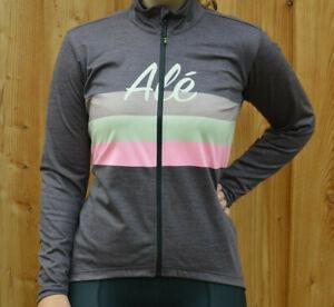 Alé Ale Classic Vintage Ladies Warm Winter Wind Stretch Bicycle Jacket Plum %%