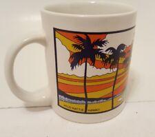Retro color Hilo Hattie  Diamond Head Hawaii Coffee Mug Cup pre-owned