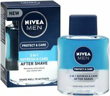 NIVEA Men Protect & Care 2 in 1 Refresh & Care After Shave 100ml Bi-Phase Lotion