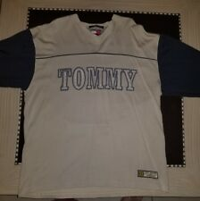 Vintage 90s Jersey Tommy Hilfger Spelled Out Graphic Rare Size Xl Men's 88 Vtg