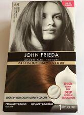John Frieda Precision Foam Colour Hair Dye 6N Light Natural Brown