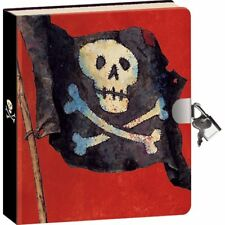 PIRATE  DIARY WITH LOCK AND 2 KEYS