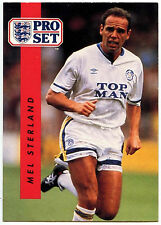 Mel Sterland Leeds United #89 Pro Set Football 1990-1 Trade Card (C363)