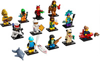 Brand New Lego 71029 Minifigure Series 21 Complete Set x 12 (sealed/resealed)