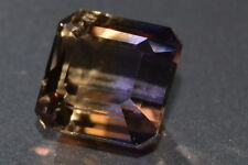 """Gorgeous"" VVS 6.57ct Untreated Natural Bolivian Cushion Cut Ametrine Gemstone"