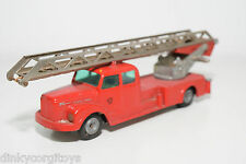 TEKNO 445 SCANIA VABIS FIRE TRUCK NEAR MINT CONDITION