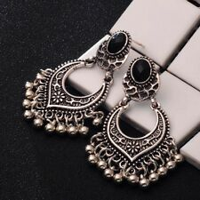 Indian Bollywood Jewelry Gold Plated Wedding Wear Traditional Polki Earrings