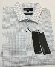Marks & Spencer Autograph Supima Cotton Men's Short Sleeve Checked Shirt Size S