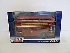 CORGI CC25910 buses in Britain ROUTEMASTER, 11 Liverpool St Stn - Limited Editio