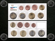SLOVAKIA complete EURO SET 2009 - 8 coins SET (1 cent - 2 Euro) UNCIRCULATED