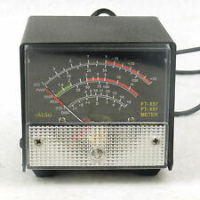 External S meter/SWR/Power Meter display meter For Yaesu FT-857/FT-897 balck