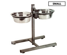 Petface Small Adjustable Double Diner