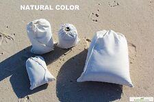 500 (4x6) Original Cotton Muslin Drawstring Bags Bath Soap ~Nice Quality ~