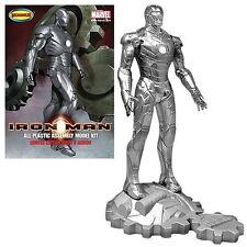 MOEBIUS 1.8 Scale Iron Man Mark 2 Chrome finition en métal Modèle en édition limitée.