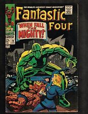 Fantastic Four #70 ~ When Fall the Mighty ~ 1968 (6.5) WH