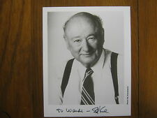 ED  KOCH  (Died-2013) The People's Court/NYC Mayor  Signed  B & W  Glossy  Photo