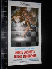 ★ Manifesto Locandina MORTE SOSPETTA DI UNA MINORENNE  Poster Playbill ★