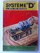 SYSTEME D du 9/1957; Fauteuil infirme/ Cerf volants/ ponceuse a bande/ Coffre en