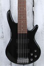 Ibanez Gio Soundgear GSR206 6 Cuerdas Bajo Eléctrico Guitarra Phat II Ecualizador Negro Brillante