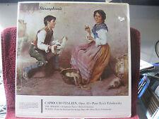 Tchaikovsky - Capriccio Italien Opus 15 (very good) vinyl LP