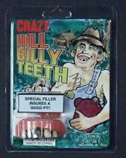 Hillbilly Rotten Teeth with Gold Cap