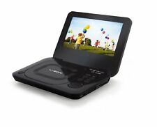 V-Zon 7011D-BLK 7 inch Portable multi-region DVD Player  Black includes car kit