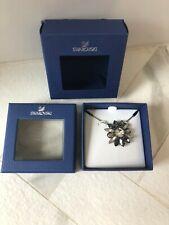 NIB Swarovski SHOUROUK Black Pendant Necklace 5038903 DMUL/RUS SRP $126