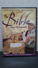 ** The Bible: Jesus of Nazareth (DVD) - Charlton Heston - Free Shipping!