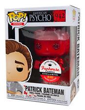 Funko Pop #942 Red Diamond Patrick Bateman American Psycho Funhouse Custom 1/20