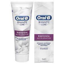 Oral-B 3D Blanco Acelerador De Blanqueamiento Pasta de dientes intensivos (compre 2 lleve 1 Gratis)