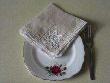 napkins wedding afternoon tea vintage retro shabby chic corner detail 25 cm 6