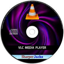 Neu & Schneller Versand! Vlc Mediaplayer Play Alle Video / DVD / Musik / Hör