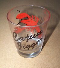 Extra Large Cajun Jigger shot glass shotglass holds  almost 1 pint Lobster