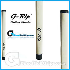 Feeltec G-Rip Wave Pistol Putter Grip - White + Tape