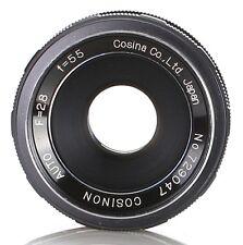 Cosina 55 mm 2.8 Lens mount M42 (Réf#E-155)