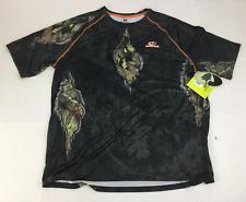Mossy Oak Men's Eclipse T-Shirt Large NWT Break Up Performance Tee Raglan Camo