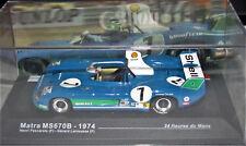 Matra MS 670B  #7 - Vainqueur Le Mans 1974  - 1/43