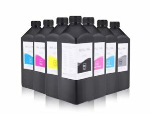 500ML LED UV Ink For Epson L800 L805 L1800 1390 1430 4800 7800 TX800 XP600