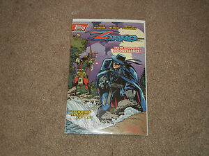Topps Comics ZORRO The Bones Travel To The Ocean Issue #5, Printing #1 May 1994
