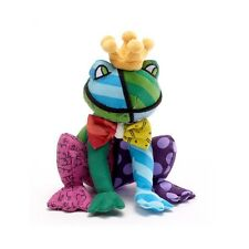 ROMERO BRITTO MINI FROG  PLUSH 8 in H ** NEW **