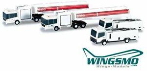 Herpa Wings Flughafenzubehör Tank- und Reinigungsfahrzeuge 520850