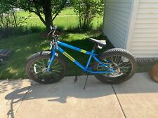 Mongoose Dolomite 26 inch Fat Tire Mens Mountain Bike Bicycle - Blue