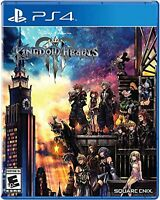 Kingdom Hearts III For PlayStation 4 PS4 RPG PS5 Very Good 3E
