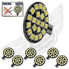 6X T10 T15 921 194 Natural White RV Trailer Interior 12V LED Light Bulbs 21SMD